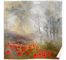 "Artwork 1441 ""Poppies"" Poster"
