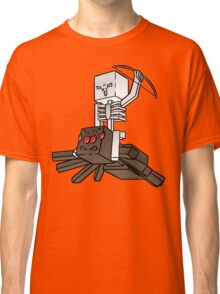 Minecraft Spider Jockey Classic T-Shirt