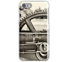 Old Thresher BW vintage iPhone Case/Skin