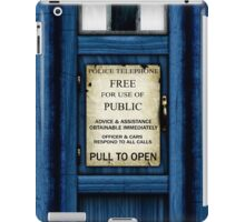 Free For Use Of Public - Tardis Door Sign - iPad Case iPad Case/Skin