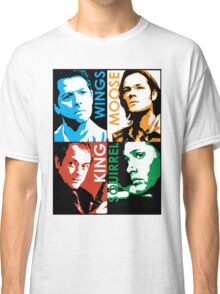 Moose, Squirrel, Wings and King. Classic T-Shirt