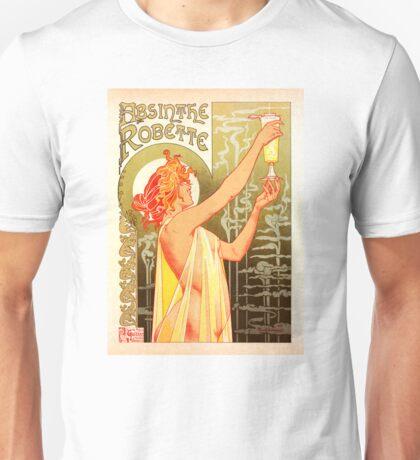 Poster Absinthe Robette Unisex T-Shirt