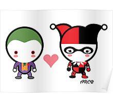 Harley Quinn and The Joker Poster