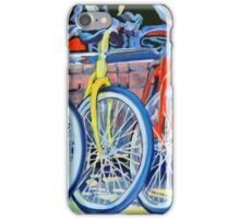 The Bicycle Shop, Bikes in a Row, Bicycle Picture iPhone Case/Skin