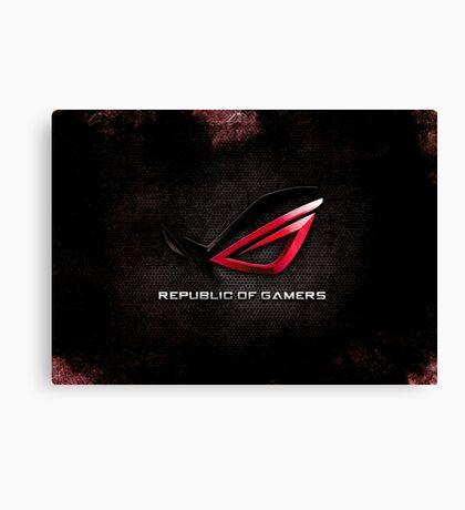 ROG - Republic of Gamers HQ Canvas Print