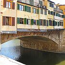The Iconic Ponte  Vecchio.............................Florence by Fara