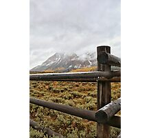 Fall in the Rockies #4 Photographic Print