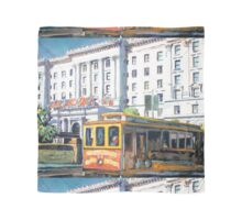 Cable Car 54 San Francisco California Picture Scarf