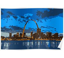 St. Louis By Dusk Poster