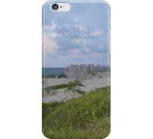 Boardwalk to beach iPhone Case/Skin