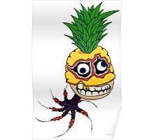 Pineapple Octopus Rocket Man, III Poster