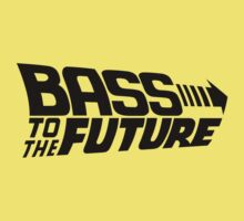 Bass to the Future 1 Kids Clothes