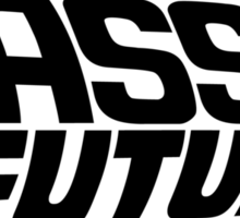 Bass to the Future 1 Sticker