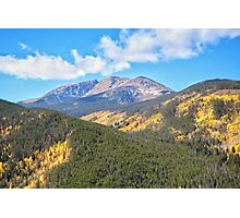 Fall in the Rockies #16 Photographic Print