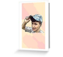 Dan Howell painting, cases, mugs & so much more.  Greeting Card