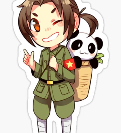 China - Hetalia Sticker