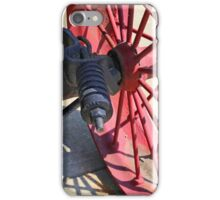 Steam Engine Wheel 4 iPhone Case/Skin