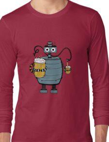 Beer Bot Long Sleeve T-Shirt