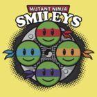 Mutant Ninja Smileys by hardwear