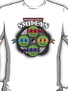 Mutant Ninja Smileys T-Shirt