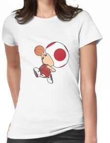Michael Toad-an Womens Fitted T-Shirt