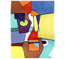 Happy Abstract Poster
