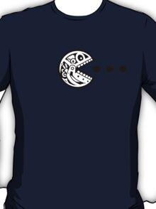 Pac Robot Skull (black white) T-Shirt