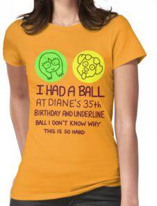 BoJack Horseman Womens Fitted T-Shirt