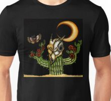 Midnight Blooms: Still Life in the Desert Unisex T-Shirt