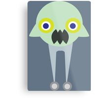 Monster Bot  Metal Print
