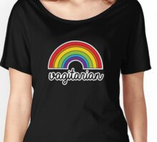 Vagitarian Funny LGBT Pride Rainbow Women's Relaxed Fit T-Shirt