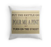 Coronation Street Fan Throw Pillow