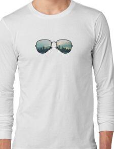 City Through Sunglasses Long Sleeve T-Shirt