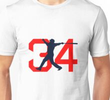 David Ortiz Farewell 34 big papi Unisex T-Shirt