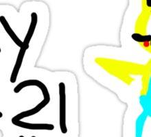 Teny Sonichu Sticker