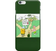 All Paths Lead Somewhere Heavenly iPhone Case/Skin