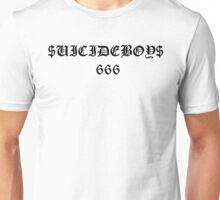 $UICIDE 666 WHITE Unisex T-Shirt