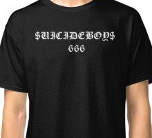 $UICIDE 666 BLACK Classic T-Shirt