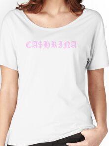 CA$HRINA PINK Women's Relaxed Fit T-Shirt