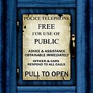 Free For Use Of Public - Tardis Door Sign - iPhone Case by Ra12