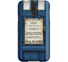 Free For Use Of Public - Tardis Door Sign - Samsung Phone Case Samsung Galaxy Case/Skin