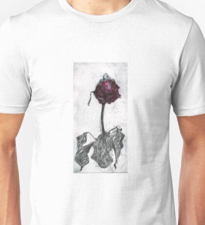 Dying Rose Unisex T-Shirt