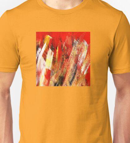 Espacio rojo Unisex T-Shirt