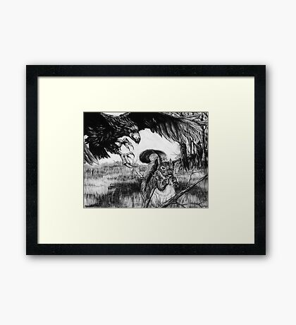 Squirrel's Day Out Framed Print