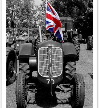 Oliver Tractor  Sticker