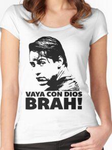 Vaya Con Dios Brah! Women's Fitted Scoop T-Shirt