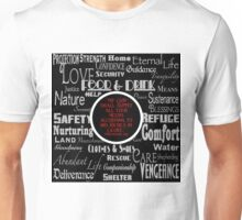 Philippians 4:19 (KJV) Red Unisex T-Shirt