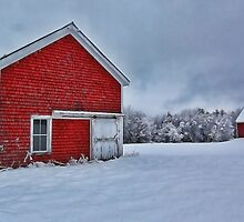 The Lindscott Farm -- Bridgton, Maine by T.J. Martin