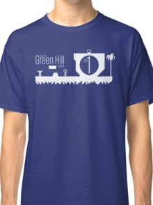 Enter the Green Hill Zone (Sonic the Hedgehog) Classic T-Shirt