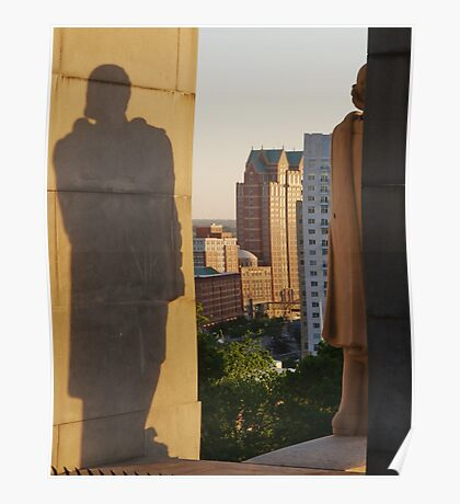 Protective Shadow Poster